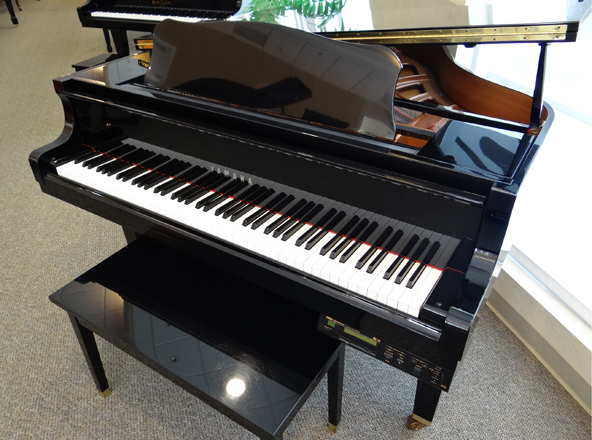 Save on used yamaha disklavier baby grand pianos for Price of a yamaha baby grand piano