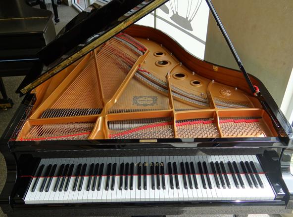 Used yamaha c3 grand piano used piano center for Yamaha c3 piano